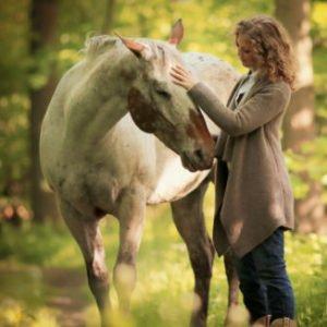 Akki Schubert bei der Calm Horse Academy
