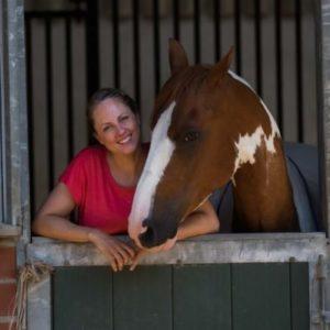 Agnes Trosse bei der Calm Horse Academy