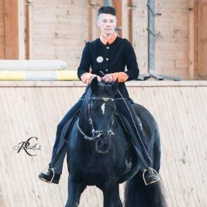Alexandra Bohl bei der Calm Horse Academy
