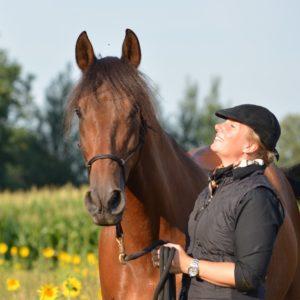 Nicole Weinauge bei der Calm Horse Academy