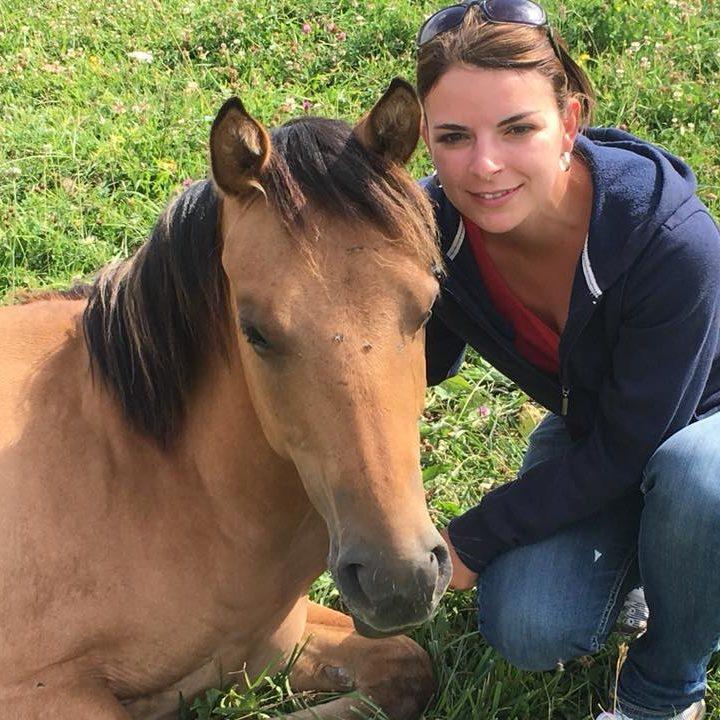 Stefanie Pfeifer bei der Calm Horse Academy