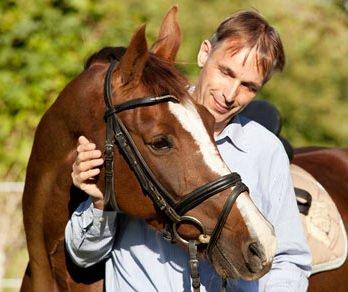 Thorsten Hinrichs bei der Calm Horse Academy