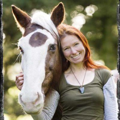 Sandra Schneider bei der Calm Horse Academy