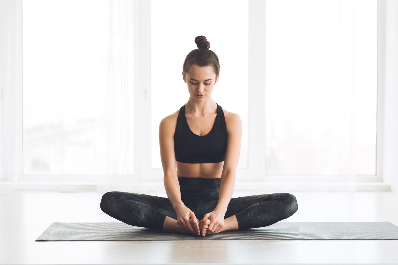 Yoga Übung für Reiter