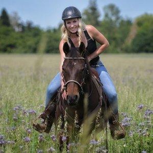 Sina Speth Reiten Pferd Western